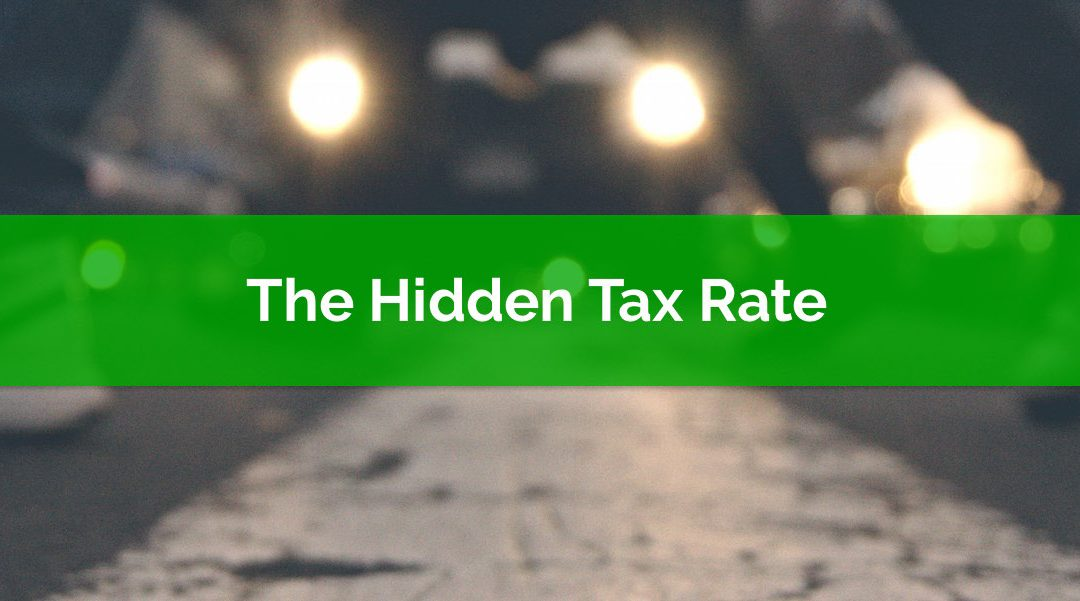 The Hidden Tax Rate: Government Programs And Their Claw Back Rates