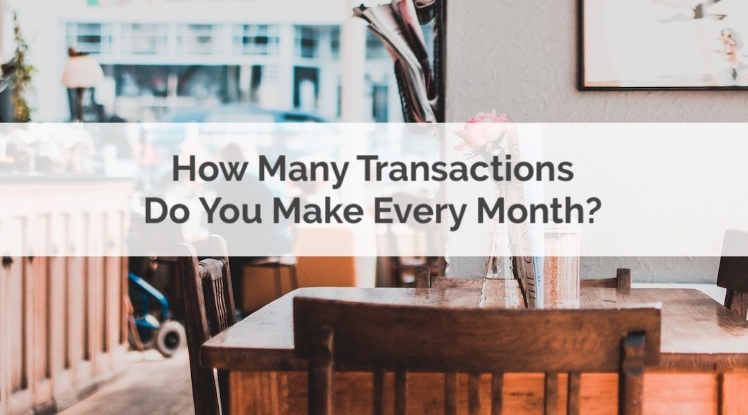 It's Not Just How Much You Spend, It's How Many Transactions You Make