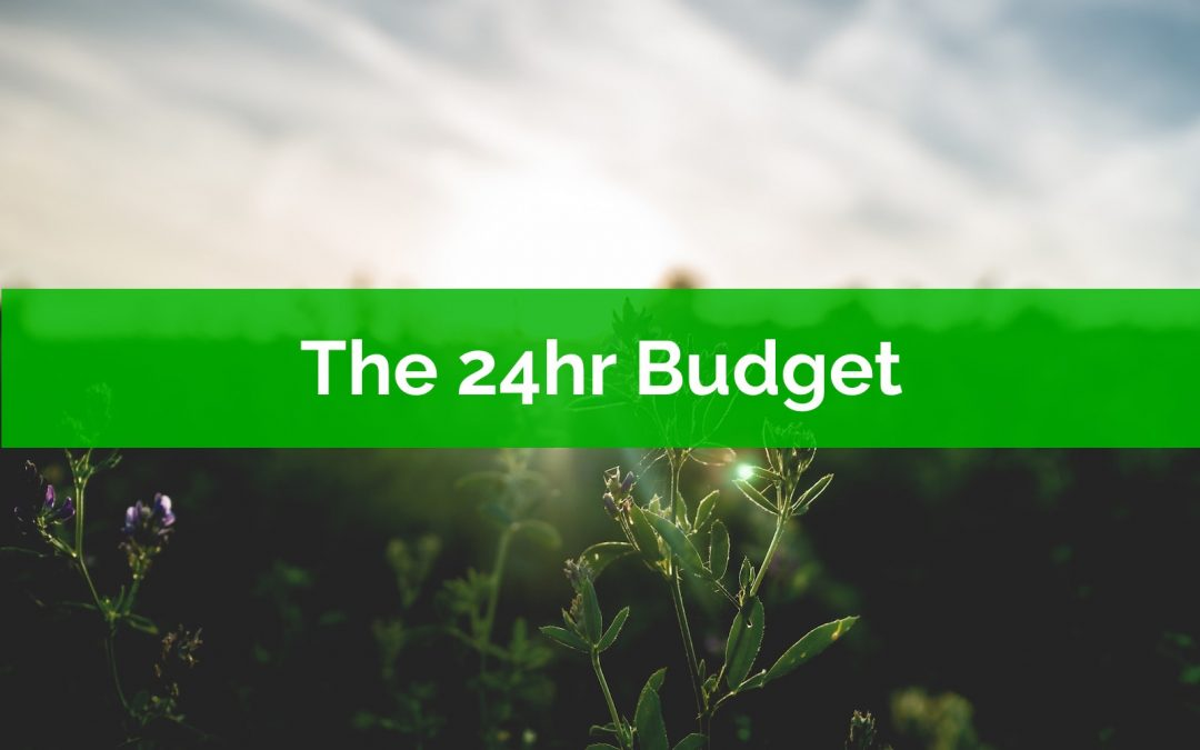 The 24-Hour Budget