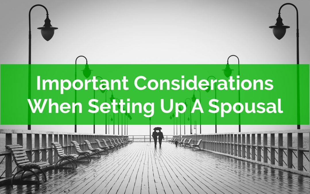 Important Considerations When Setting Up A Spousal Loan
