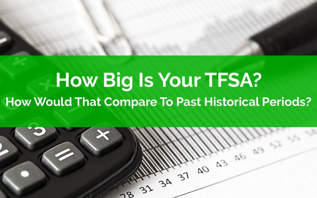How Big Is Your TFSA? How Would That Compare To Past Historical Periods?